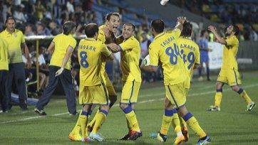 «Ростов» на последних минутах вырвал ничью в матче с «Амкаром»