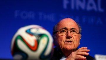 Блаттер: «Чемпионат мира 2018 года пройдет в России»