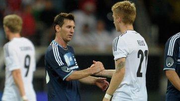 Сборные Германии и Аргентины проведут товарищеский матч