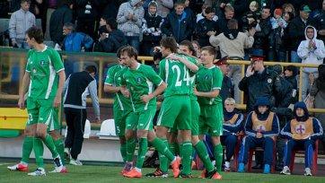 «Томь» на последних секундах вырвала победу в Нижнем Новгороде