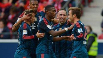 «Бавария» бьет «Майнц» в концовке