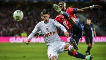 «Монако» сыграл вничью с «Лиллем»