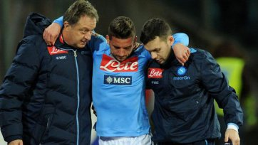 Дрис Мертенс травмировался в матче с «Фиорентиной»