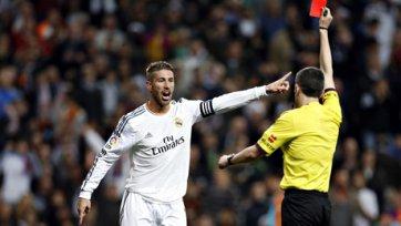 «Реал» обжалует удаление Серхио Рамоса