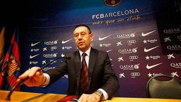 Бартомеу: «Летом «Барселона» купит минимум двух игроков»