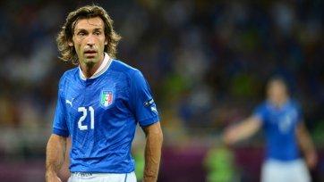 Пирло: «Я ценю каждую минуту, выступая за сборную Италии»