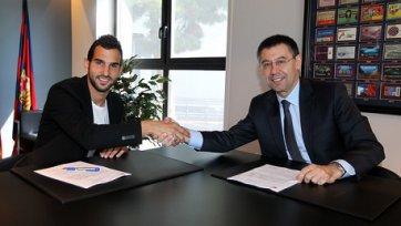 Официально: Монтойя продлил контракт с «Барселоной»