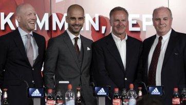 Румменигге: «Гвардиола способен стать легендарной личностью для нашего клуба»