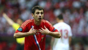 Дзагоев: В сборной на моей позиции играет Широков