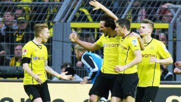 «Боруссия» добывает волевую победу над «Вольфсбургом»