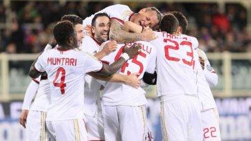 «Милан» обыграл «Дженоа» и может зацепиться за еврокубки