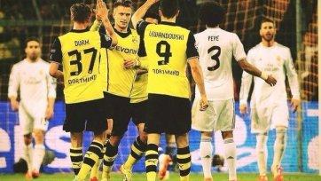 «Реал» выстоял в Дортмунде