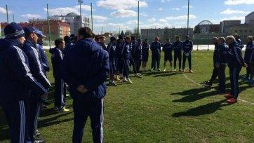 Сегодня Черчесов был представлен игрокам «Динамо»