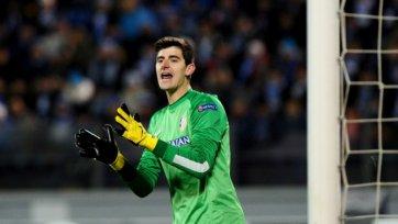 УЕФА выступил против запрета на участие Куртуа в матчах с «Челси»