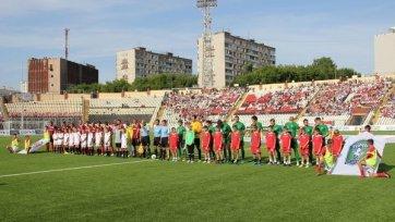 «Томь» и «Амкар» голов друг другу не забили