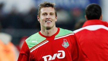 Ян Дюрица провел сотый матч в футболке «Локомотива»