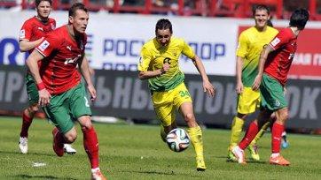 «Локомотив» оступается в игре с «Анжи»