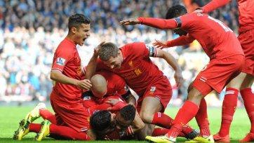 «Ливерпуль» бьет «Сити» в потрясающей схватке на «Энфилде»