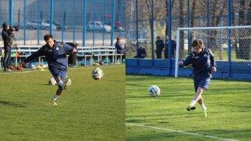 Жано и Калачев начали тренироваться