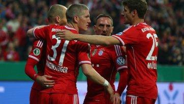 «Бавария» легко обыгрывает «Кайзерслаутерн» и шагает в финал Кубка Германии