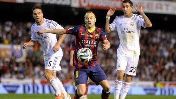 Иньеста: «На контратаках «Реал» играет просто превосходно»