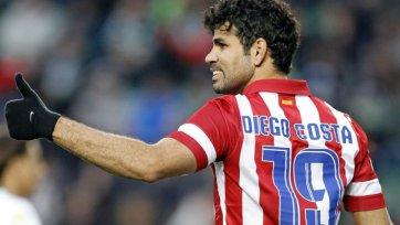 «Челси» готовит для Диего Косты 185 тысячный контракт