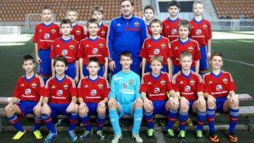 Детская команда ЦСКА выиграла турнир памяти Федотовых