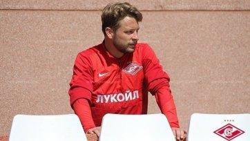 Эберт: «Переходил в «Спартак», чтобы сыграть в Лиге чемпионов»
