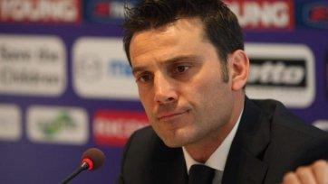 Винченцо Монтелла: «У соперника было немного моментов, но они его использовали»