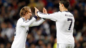 Роналду: «В этом сезоне Модрич порой просто невероятен»