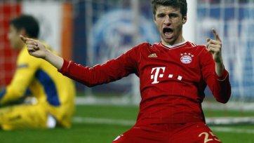 Томас Мюллер: «До конца сезона нужно сыграть на пределе возможного»