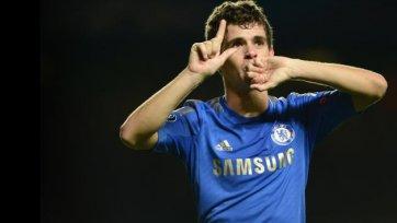 Оскар остается предан «Челси»