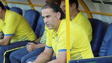 Божович: «На таком поле очень трудно играть в футбол»