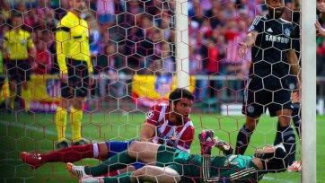 Петр Чех травмировался в матче с «Атлетико»