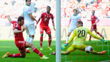 «Бавария» добывает крупную волевую победу над «Вердером»