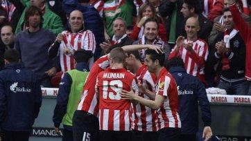 «Атлетик» обыгрывает «Севилью» в сражении за Лигу чемпионов