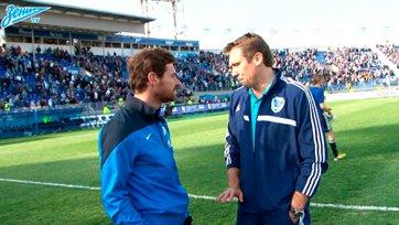Андре Виллаш-Боаш предложил тренеру «Волги» свой предматчевый анализ