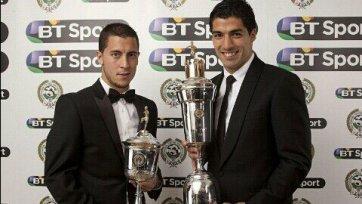 Суарес лучший игрок сезона, Азар лучший молодой футболист