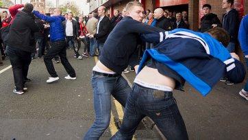 Фанаты «Ливерпуля» и «Челси» выяснили отношения