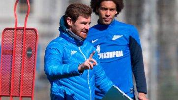 «Зенит» начал подготовку к матчу сезона