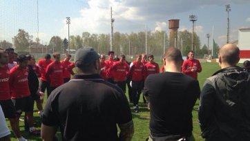 В Тарасовке состоялась встреча фанатов со «Спартаком»