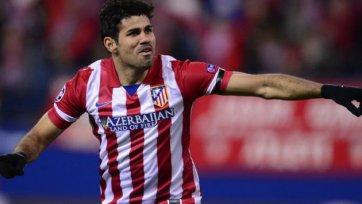 Руководство «Атлетико» надеется, что Диего Коста останется