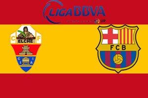 Эльче - Барселона (0:0) (11.05.2014) Видео Обзор