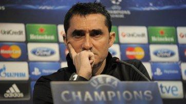 Вальверде может встать у руля «Барселоны»