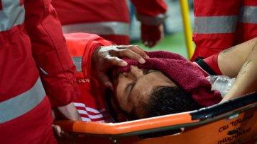 Гарай избежал серьезной травмы