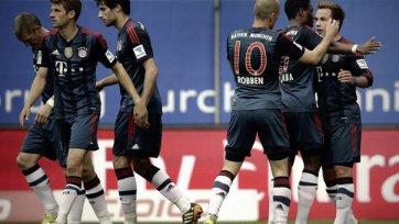 «Бавария» громит «Гамбург»