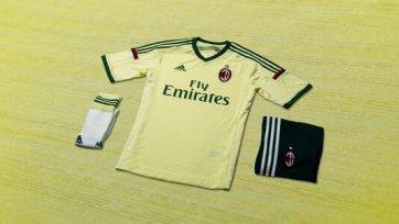 «Милан» представил форму на сезон 2014/15