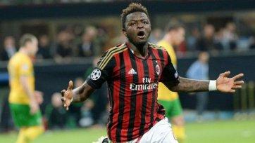 Мунтари уверен, что «Милан» пробьется в ЛЕ