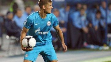 В «Зените» отказываются комментировать возможное возвращение Денисова