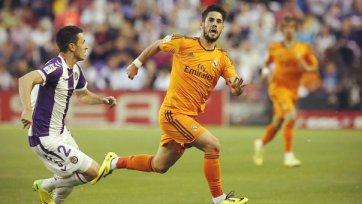«Реал» теряет очки в Вальядолиде